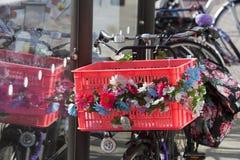 Велосипед силы цветка Стоковая Фотография