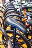 Велосипед спорт места на автостоянке велосипеда Стоковая Фотография RF