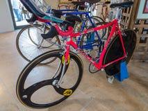 Велосипед следа скорости Marco Pantini Стоковое Изображение