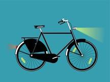 Велосипед с светами Стоковые Фото