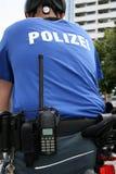 Велосипед-установленное полицейский Стоковые Изображения RF