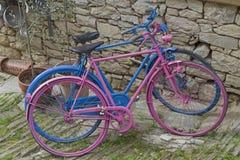 велосипед цветастое Стоковая Фотография RF