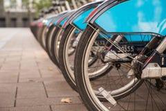 Велосипеды в парке Стоковое Изображение RF