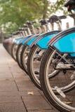 Велосипеды в парке Стоковые Фотографии RF