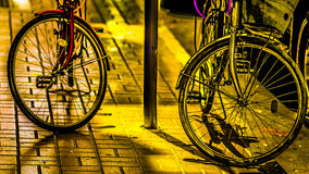 Велосипеды влюбленности Стоковые Изображения RF