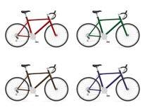 Велосипеды дороги с иллюстрацией вектора шестерни перенося Стоковое Изображение RF