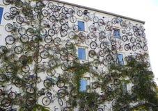 Велосипеды рекламы Стоковая Фотография