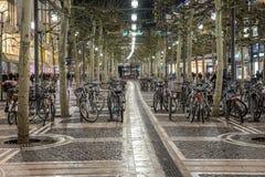 Велосипеды Франкфурта Стоковая Фотография