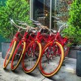 Велосипеды Стоковые Фотографии RF