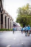 Велосипед для мамы в Таиланде 16-ое августа 2015 Стоковые Изображения