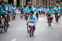 Велосипед для мамы Стоковая Фотография