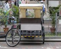 Велосипед для экипажа пассажиров в такси в Сингапуре Стоковые Фотографии RF