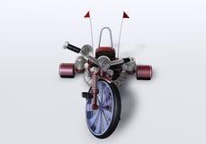 велосипед 3d Иллюстрация вектора