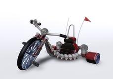 велосипед 3d Иллюстрация штока