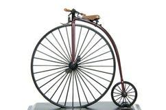 Велосипед Farthing Пенни исторический стоковое фото