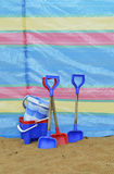 Ведро и лопата Стоковая Фотография RF