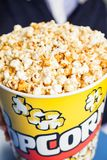 Ведро попкорна на кино Стоковое Изображение