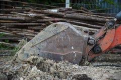 Ведро Backhoe стоковая фотография rf