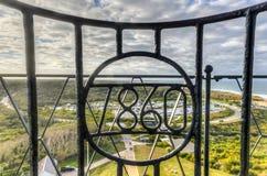ведущее популярное пункта музея montauk маяка увиденное к прогулке взгляда Стоковые Фото
