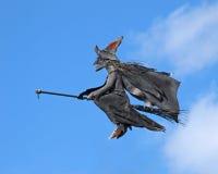 ведьма веника Стоковые Фотографии RF