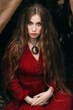 Ведьма в лесе Стоковые Фото