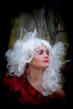 Ведьма в древесинах на Halloween Стоковые Фотографии RF