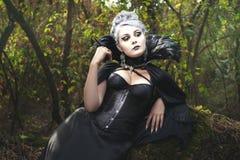 Ведьма в древесинах стоковая фотография rf
