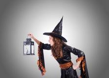 Ведьма против предпосылки градиента Стоковые Фото