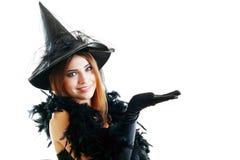 Ведьма хеллоуина Стоковое Фото