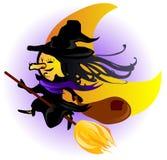 ведьма явления божества счастливая Стоковые Изображения RF