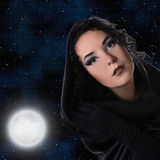 Ведьма стоковые фото