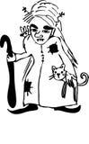 ведьма Бесплатная Иллюстрация