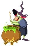 ведьма brew Стоковое Изображение