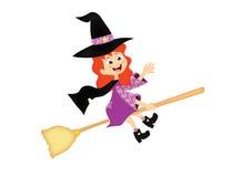 ведьма halloween маленькая Стоковое фото RF