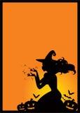 ведьма halloween Стоковое Изображение RF