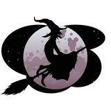 ведьма halloween Стоковые Фото