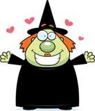 ведьма hug Стоковое Изображение