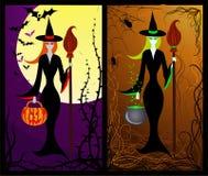 Ведьмы (вектор) стоковое изображение rf