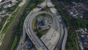 Взаимообмен шоссе Стоковая Фотография RF