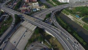 Взаимообмен шоссе Стоковые Изображения