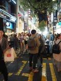 Взаимодействие на улице стоковая фотография
