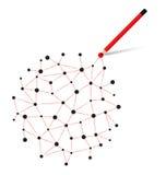 взаимодействие иллюстрация вектора
