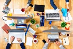 Взаимодействовать как команда для лучших результатов Мультимедиа Стоковая Фотография