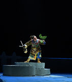 """Взберитесь к верхней части  teenager†Пекина Opera""""Yue холм-детей Стоковая Фотография RF"""
