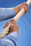 Взбираться веревочка Стоковое Изображение RF