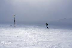 Взбираться горы Стоковое Изображение RF