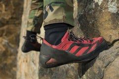 взбираясь ботинок Стоковая Фотография RF