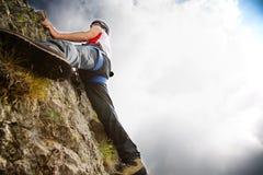 взбираясь гора Стоковая Фотография RF