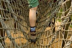 взбираясь качание веревочки Стоковое Изображение RF