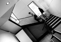 взбираясь лестницы Стоковое фото RF